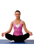 Picture of yoga master Royalty Free Stock Photography