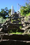 Stairway to heaven. In this picture you can see a rock stairway to heaven Royalty Free Stock Images