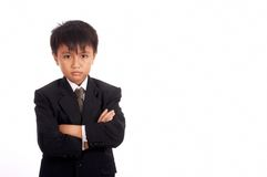 Picture of a young boss Royalty Free Stock Photography