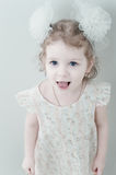 Picture of young smiling little girl Royalty Free Stock Images