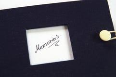 Picturebook mit Wort Gedächtnissen Stockfoto