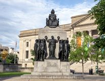 All Wars Memorial to Colored Soldiers and Sailors, Logan Park, Philadelphia Pennsylvania Royalty Free Stock Images