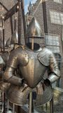 Armour of the civic Guard, Amsterdam Museum stock images