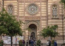 Dohany Street Synagogue, Budapest, Hungary stock photo
