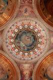 Pictured Dome On The Inside Cathedral Royalty Free Stock Images