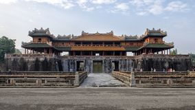 Noon Gate, Entrance to the Imperial City, Hue stock images