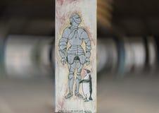 Artwork in the Art Park, Deep Ellum, Dallas, Texas royalty free stock photos