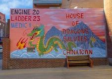 `House of Dragons Salutes Chinatown`, Philadelphia, Pennsylvania royalty free stock images