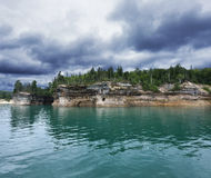 Pictured Rock National Lake Shore Stock Photography