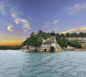 Pictured Rock National Lake Shore Royalty Free Stock Image