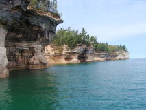 Pictured Rocks Stock Photos