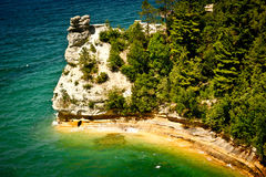 Pictured Rocks, Michigan Royalty Free Stock Photo