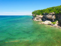 Pictured Rocks National Lakeshore Royalty Free Stock Photography