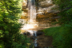 Pictured Rocks National Lakeshore Stock Image