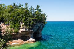 Pictured Rocks National Lakeshore Royalty Free Stock Images