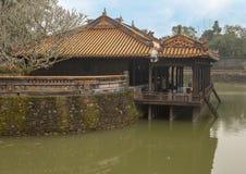 Xung Khiem pavilion in Tu Duc Royal Tomb, Hue, Vietnam. Pictured is Xung Khiem Pavilion in Tu Duc Royal Tomb four miles from Hue, Vietnam. The pavilion overlooks stock photos