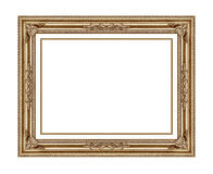 Pictureframe isolated on white. Background Royalty Free Stock Photo