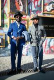 Pitti Uomo 95, Florence, Italy. stock photos