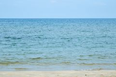 Pictures of beach and sea at Hua Hin. Thailand Stock Photography