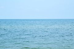 Pictures of beach and sea at Hua Hin. Thailand Royalty Free Stock Image