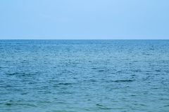 Pictures of beach and sea at Hua Hin. Thailand Royalty Free Stock Photography