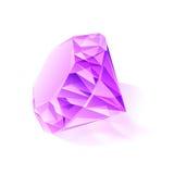 Pictures of beautiful purple gemstone Stock Photo