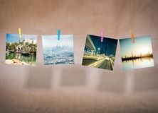 Pictures of cityscapes of Dubai Stock Photography