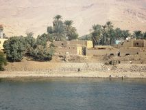 Pictures from a Cruise on the Nile. / Egypt stock photo