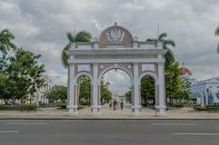 Pictures of Cuba - Cienfuegos Royalty Free Stock Photos