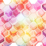 Pictures of cubes Stock Images