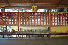 Pictures of deceased Tibetans. Who have self-immolated in protest in McLeod Ganj,India Royalty Free Stock Image
