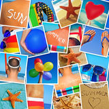Pictures of different summer scenes shot by myself Royalty Free Stock Image