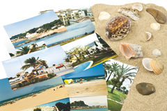 Pictures From Holidays In The Sand Royalty Free Stock Photography