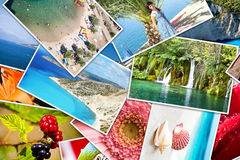Pictures of holiday. Stock Images