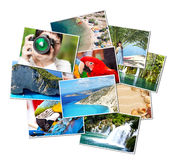 Pictures of holiday. Stock Image