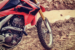 Pictures of motocross. On the ground outdoors Royalty Free Stock Photography