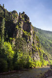 Pictures of mountains on the plateau. Tibet Plateau on a verdant mountain Stock Photography