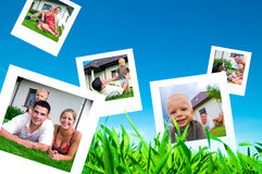 Pictures Of Happy Family Stock Photography