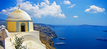 Pictures of Santorini Stock Image