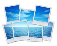 Pictures with the sea Stock Photography