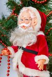 Pictures of Toy Santa Claus Royalty Free Stock Photography