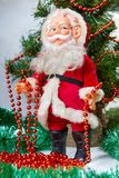Pictures of Toy Santa Claus Royalty Free Stock Photos