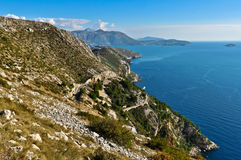 Picturesque Adriatic Coast Royalty Free Stock Images