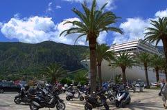 Picturesque Adriatic town environment Stock Image