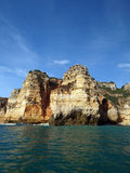 Picturesque Algarve coast Stock Images