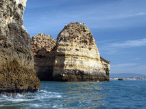 Picturesque Algarve coast Stock Photo