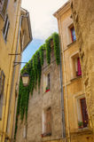 Picturesque alley in Aix-en-Provence, France Stock Images
