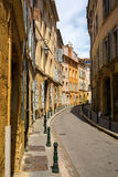 Picturesque alley in Aix-en-Provence, France Stock Photo