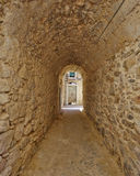 Picturesque alley, Chios island Stock Photo