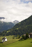 Picturesque alpine village Royalty Free Stock Images